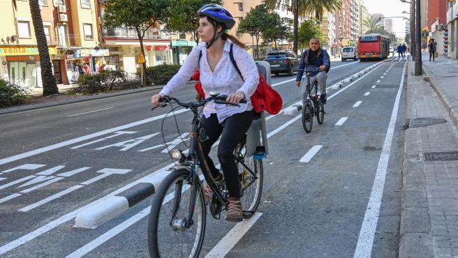 El carril bici de Primat Reig ja és transitable fins a Doctor Gómez Ferrer