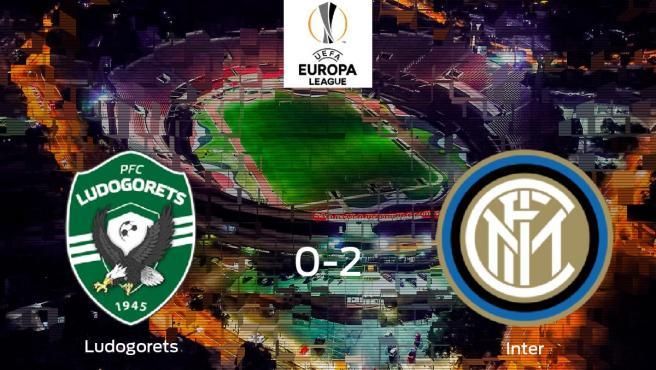 Emoción durante la final de la Europa League: Razgrad 0-2 Inter
