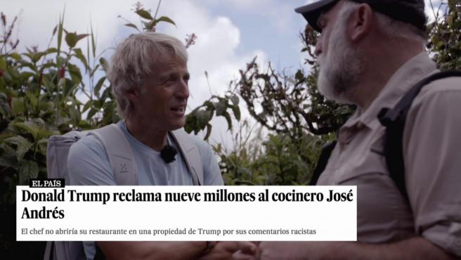 El chef José Andrés habla de su conflicto con Donald Trump en 'Planeta Calleja'.