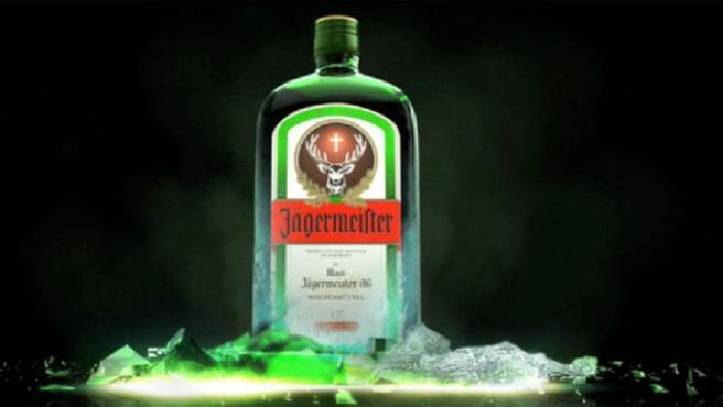Botella de Jägermeister