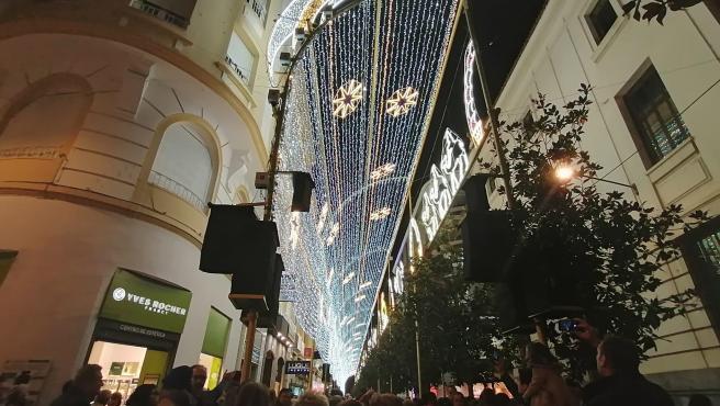 El espectáculo navideño creado por Ximenez Group en Córdoba.