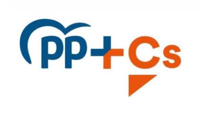 Logo de la coalición entre PP y Cs para las elecciones vascas.