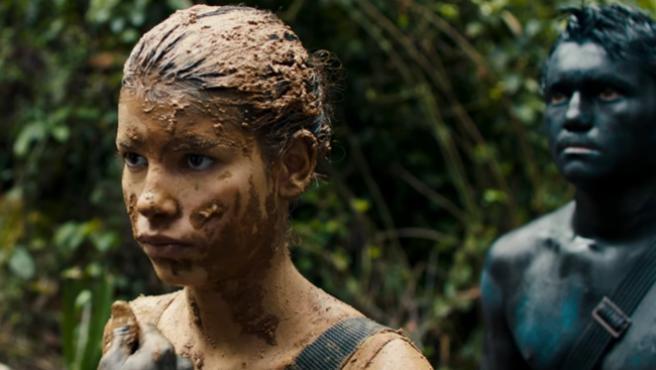 Fotograma de la película Monos