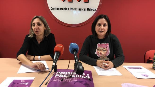 Natividade López y Margarida Corral
