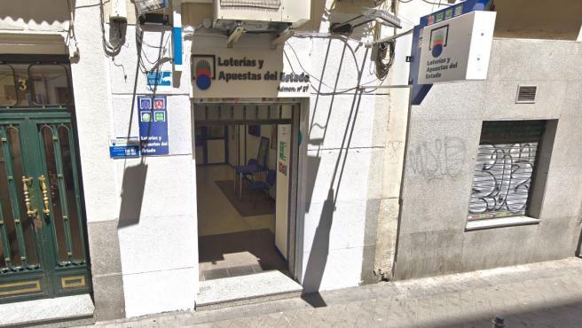 Administración de Loterías número 27 de Madrid capital.