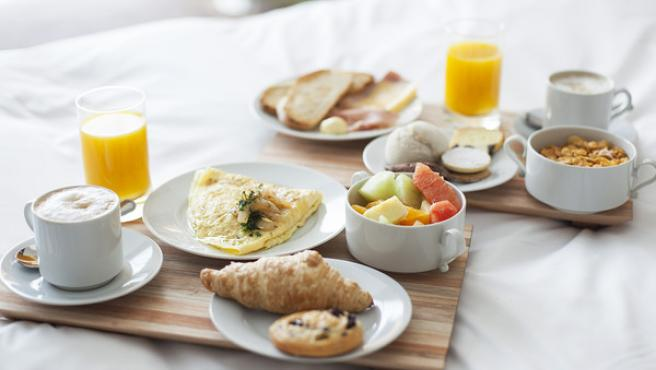 Imagen de archivo de un desayuno.