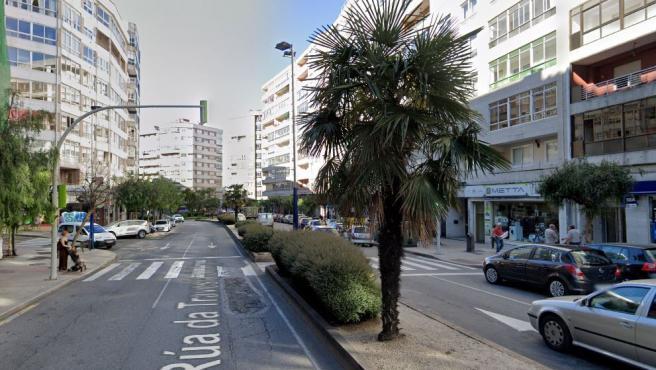 Imagen de la calle Travesía de la ciudad de Vigo.