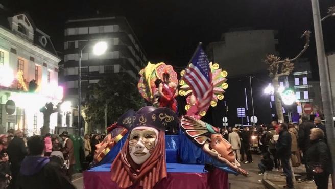 Desfile de carnaval de Laredo