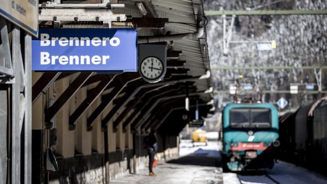 Imagen de archivo de la estación de tren de Brenner, en la frontera entre Austria e Italia.