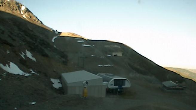 La estación de esquí de Valdezcaray, abierta solo para uso turistico