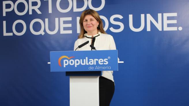 La parlamentaria autonómica del Partido Popular por Almería Rosalía Espinosa