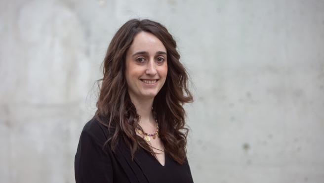 Raquel Idoate, autora de la tesis
