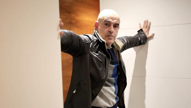 El periodista Albert Soler, durante la presentación en Madrid de su libro 'Nos cansamos de vivir bien: la otra cara del procés'.