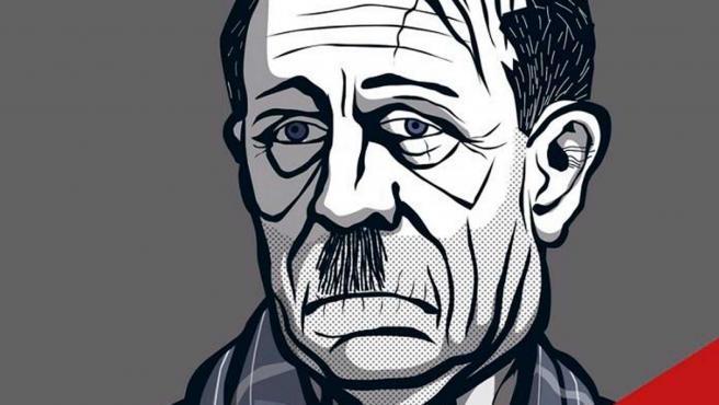Detalle de la portada de Mi retiro de Abraham Martínez.
