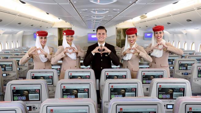 Emirates selecciona tripulantes de cabina en España