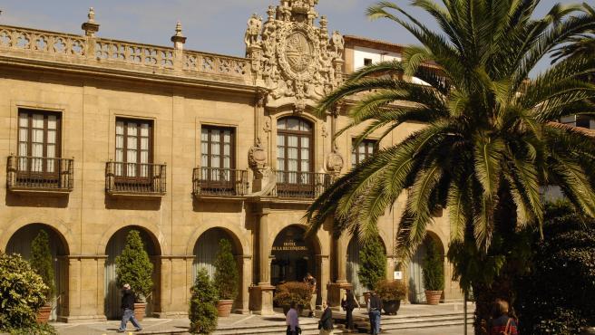 Hotel de la Reconquista en Oviedo (Asturias).