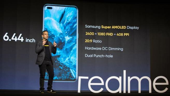 Este martes se ha presentado online el nuevo Realme X50 Pro 5G.
