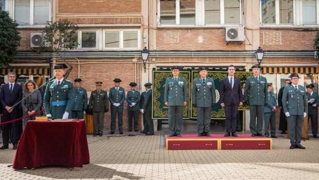 El coronel Francisco Javier Vélez toma posesión como jefe de la Comandancia de la Guardia Civil de Toledo.
