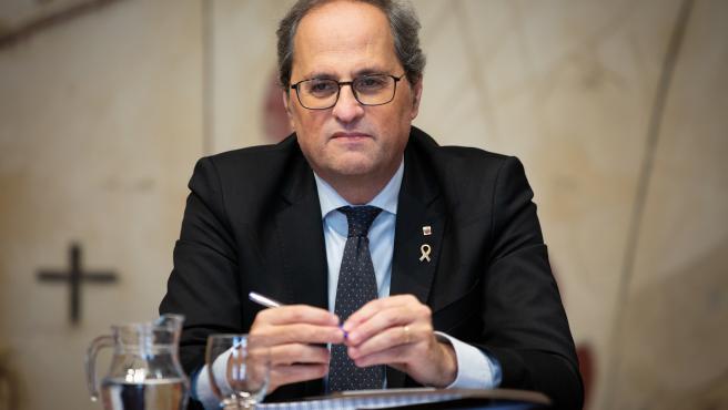 El president de la Generalitat, Quim Torra (archivo)