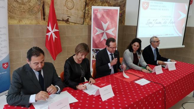 Encuentro con la Fundación Hospitalaria Orden de Malta
