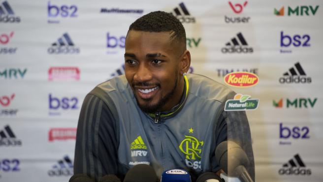 Gerson, el jugador del Flamengo que perdió la cartera.