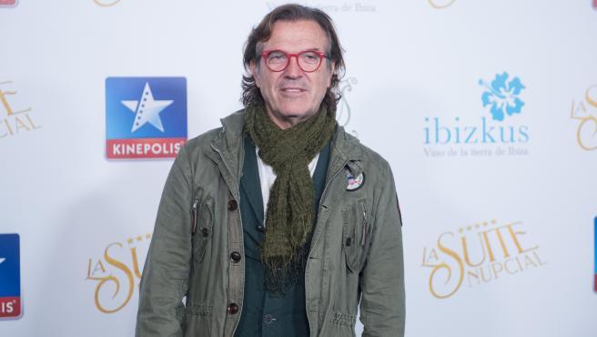 El presentador Pepe Navarro, en enero de 2020.