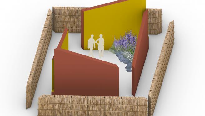 Propuesta de Storey Studio para Concéntrico que se instalará en la plaza de San Bartolomé