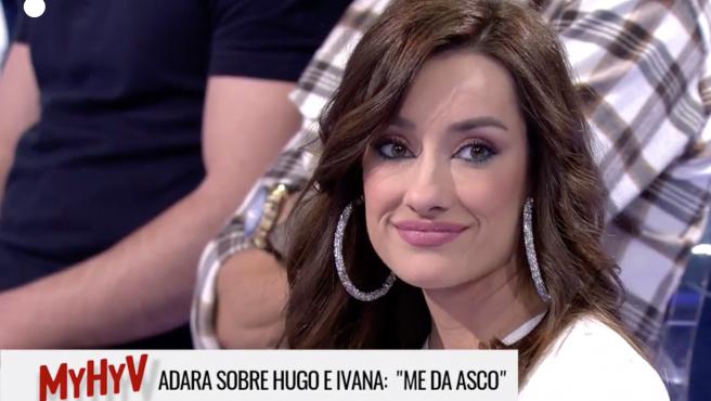 Adara Molinero, en 'Mujeres y Hombres y Viceversa'.