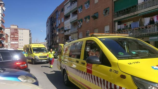 Efectivos del SUMMA lograron reanimar a la mujer, que luego falleció en el hospital.