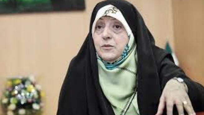 La vicepresidenta de Irán para Asuntos de Mujer y Familia, Masoumeh Ebtekar