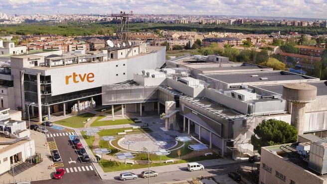 Estudios de RTVE en Prado del Rey, Madrid.