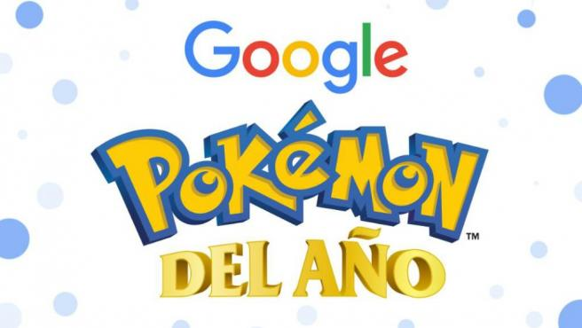 Votación de Pokémon del año según las votaciones de Google.