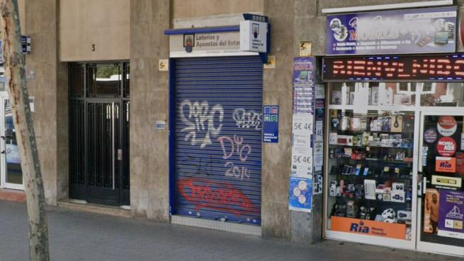 Administración de Loterías número 83 de Barcelona.