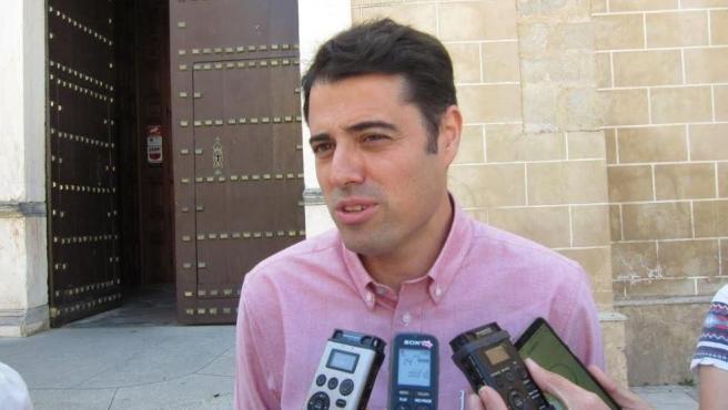 Alejandro Vélez, concejal de Vox en Badajoz.