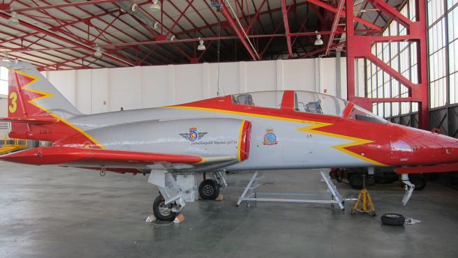 Avión C 101 del Ejécito del Aire. Patrulla Águila. Academia General del Aire (AGA)