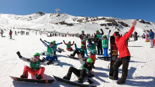 Campus Nieve de Fundación Cajasol en Sierra Nevada