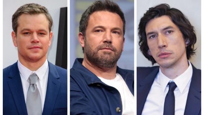 Damon, Affleck y Driver, juntos y medievales en estas fotos de 'Last Duel'