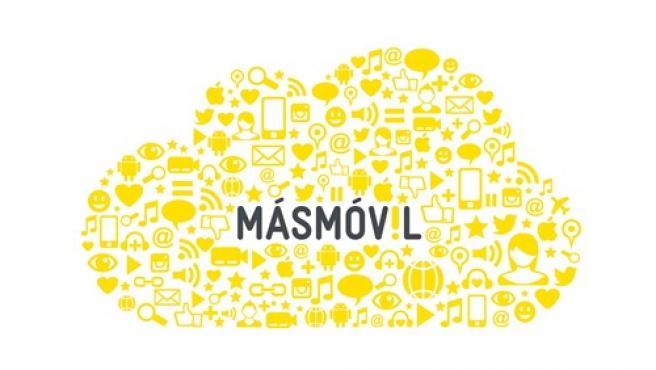El logotipo de Más Móvil.
