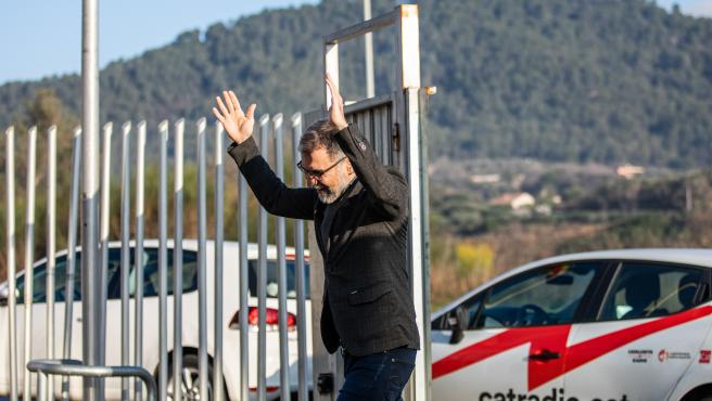 El presidente de Òmnium Cultural, Jordi Cuixart (archivo)