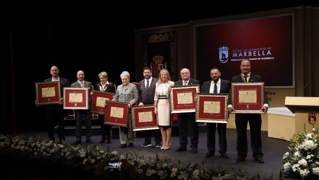 Entrega de los galardones y Medallas de la Ciudad con motivo del Día de Andalucía.