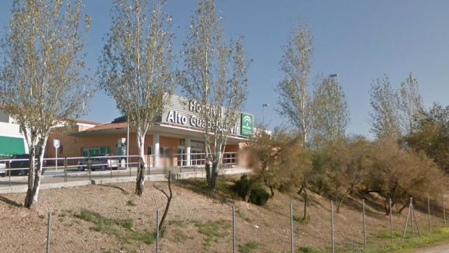 Imagen del Hosppital del Alto Guadalquivir, en Andújar, Jaén.