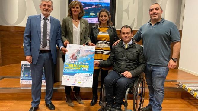 Presentación de la VI Edición del Campeonato de España de Natación por Selecciones Autonómicas Alevin.