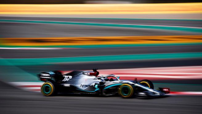 Valtteri Bottas, durante la pretemporada de Fórmula 1.