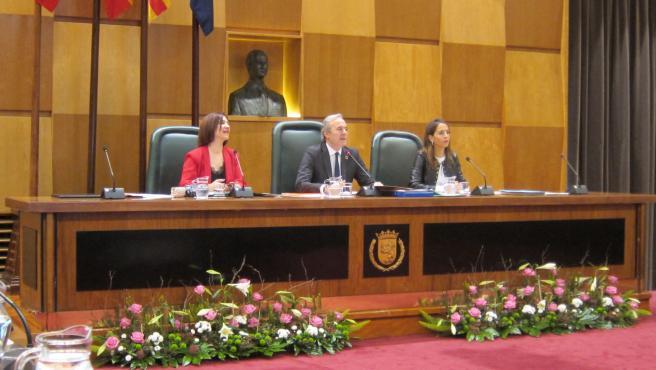 Zaragoza.- Pleno.- Aprobado el presupuesto de 2020 que supera los 801 millones e incluye enmiendas de la oposición