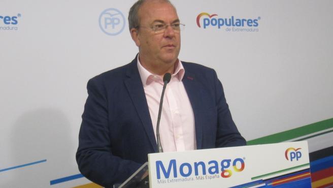 Monago, en una imagen de archivo.