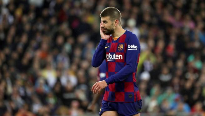 Piqué, jugador del FC Barcelona