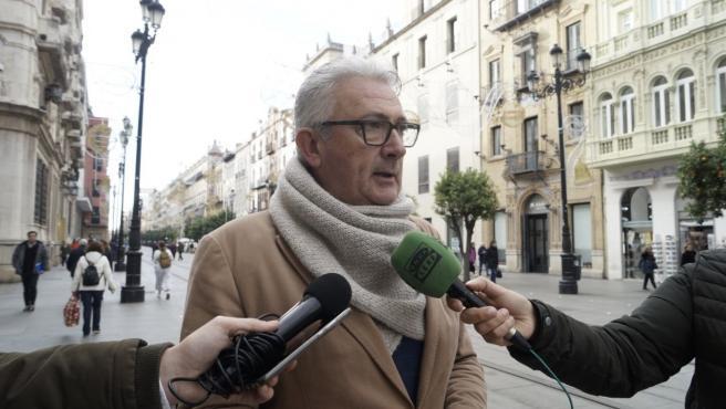El concejal Miguel Ángel Aumesquet