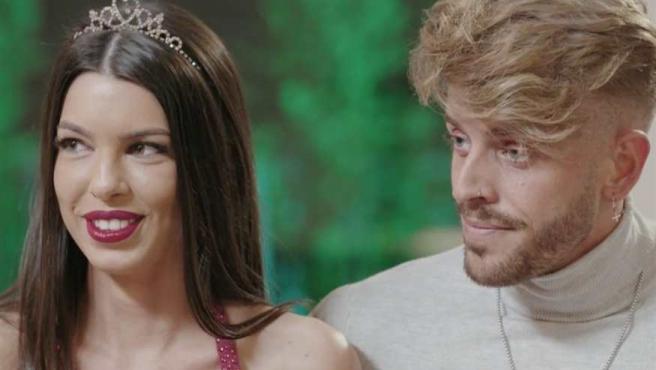 Andrea y Óscar en 'La isla de las tentaciones'.