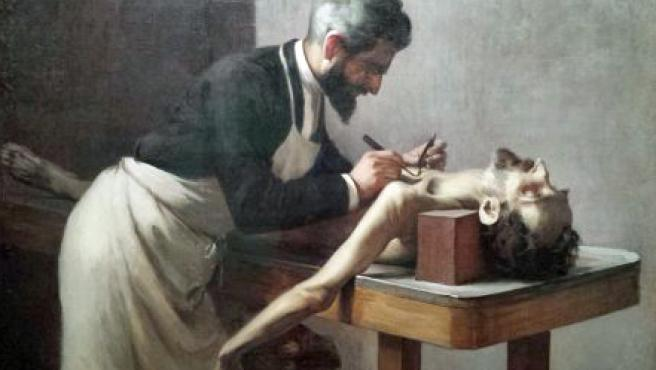 Autopsia (profesor Poirier, París)