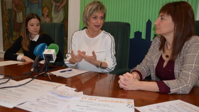 Cristina Cos, Anna Carné y Montse Robles